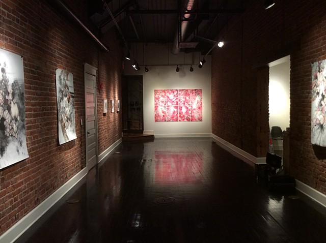 Work in Saranac Art Projects, Spokane, WA. August 2014