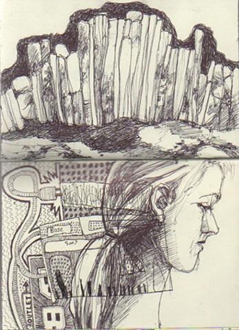 Virinda on Izzy Drawing