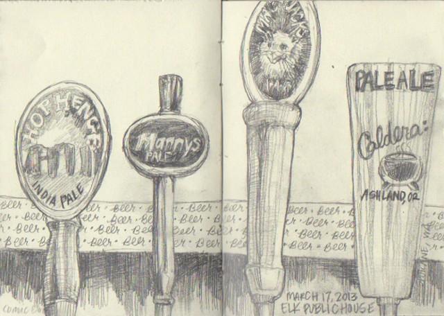 Elk Public House Beers