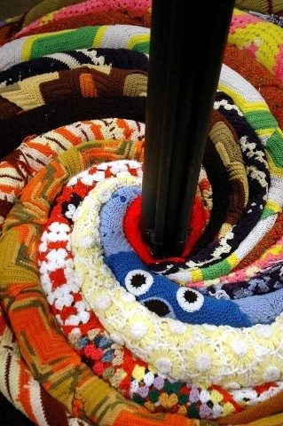 Knit Coil (detail)