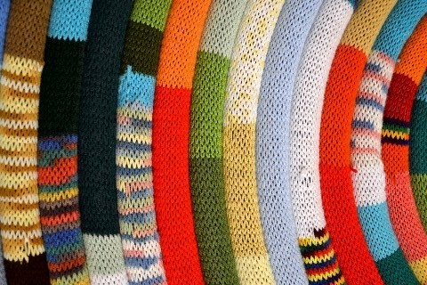 Mile Long Socks (detail)