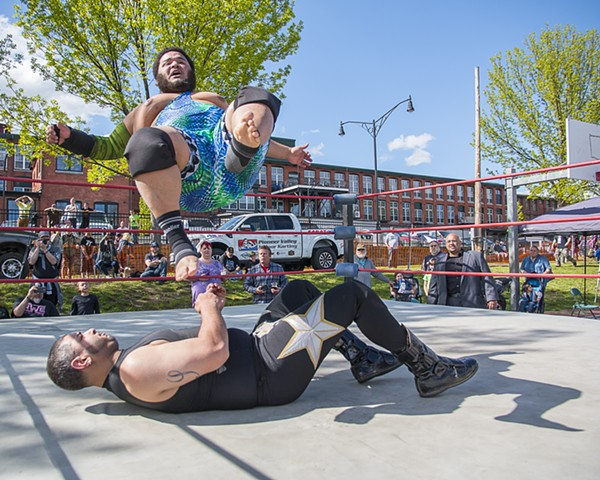 Wrestling at Thunder In the Valley