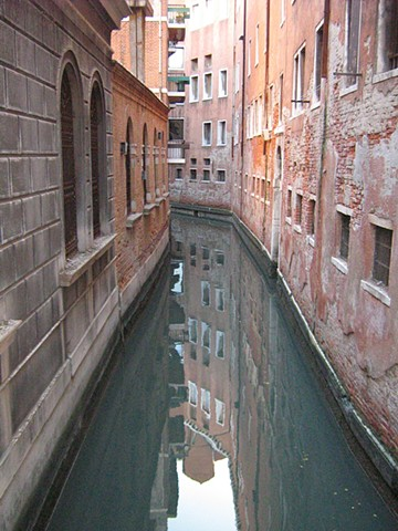 Italy Photo Venice Army Water Reflection Color
