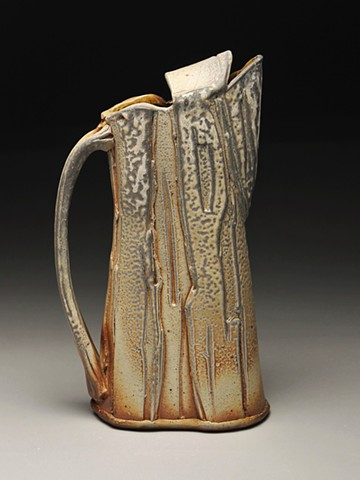 Pottery Ceramics Wood fired Pitcher