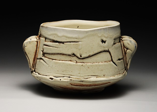 Pottery Ceramics Wood fired Bowl