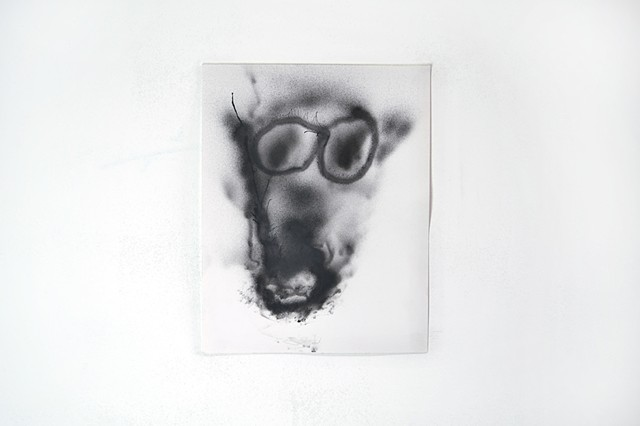 pig with cancer and glasses