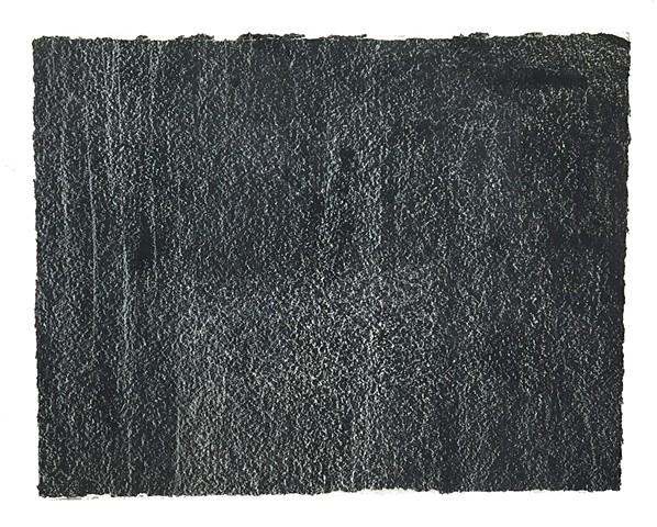 Cheri Hoffman oil on paper Indicia #4