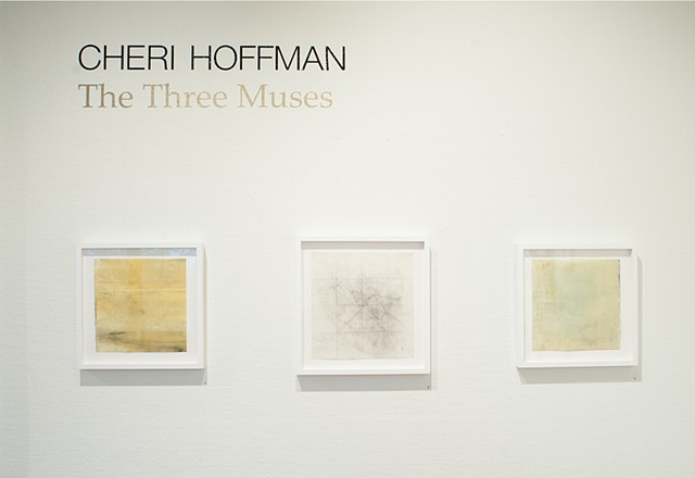 The Three Muses, Bonsack Gallery, John Burroughs, Cheri Hoffman, exhibition