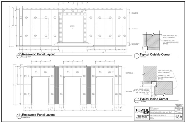 Lobby - Panel Elevation