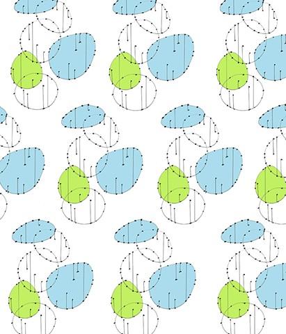 fabric textile design silkscreening