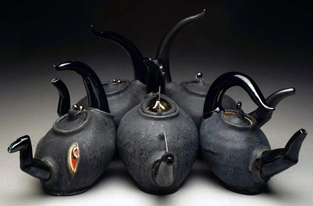 Group Picture (Black Teapots)