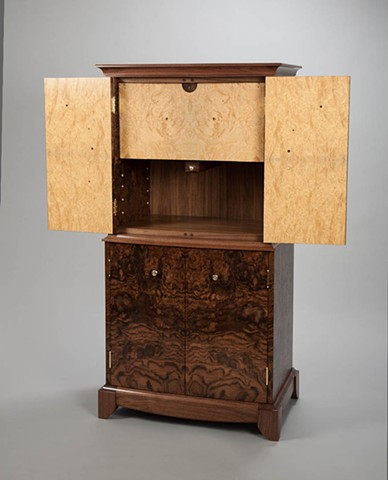 interior view of cabinet