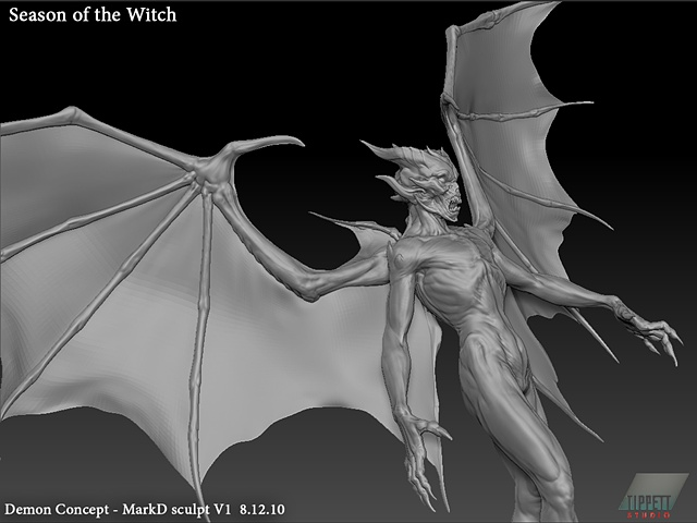 Season of the Witch: Baal conceptual sculpt