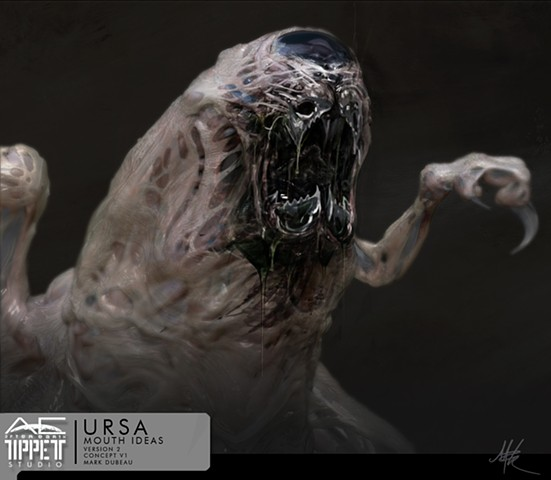 After Earth: Ursa creature.