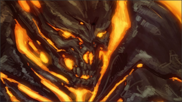 Fire Demon (detail)