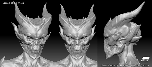 Season of the Witch, Baal closed mouth concept