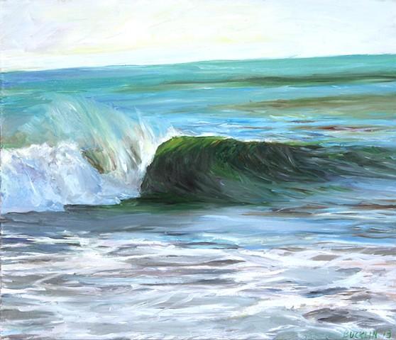 """""""Barreling Beachbreak"""