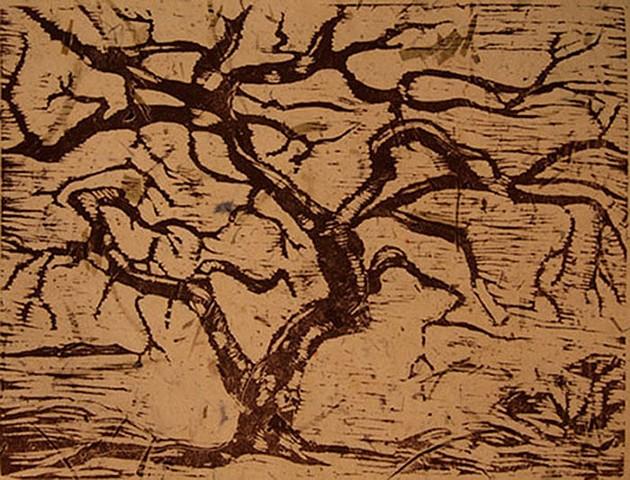 Woodcut, Relief