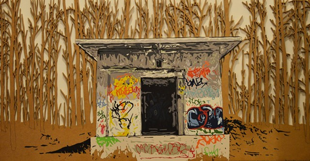 shelter graffiti art
