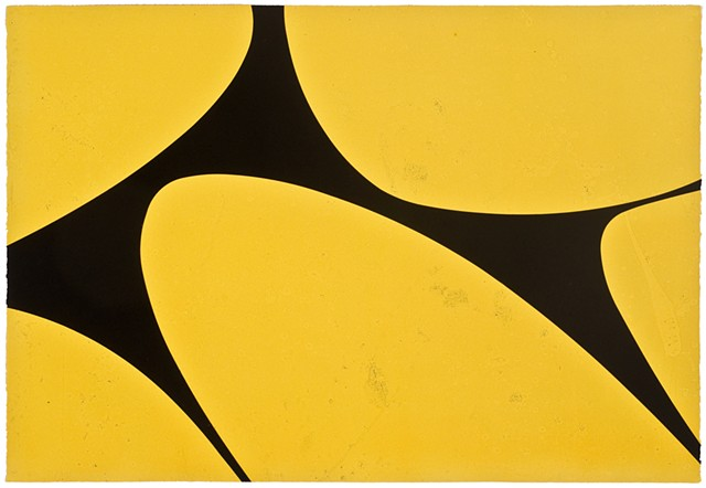 yellow and black print from Wildwood Press