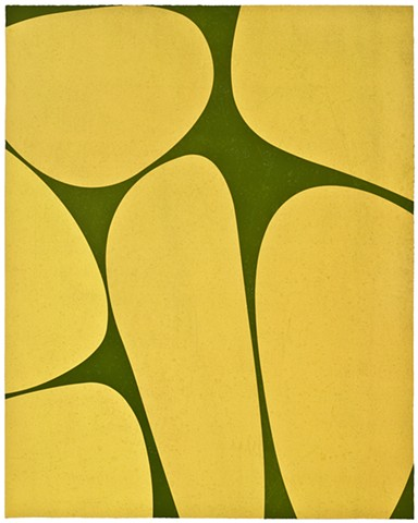 yellow and green print from Wildwood Press