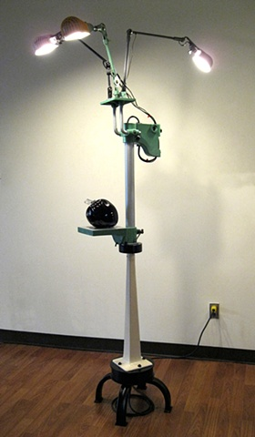 """""""Eclectic Floor Lamp"""" by Dave Carrow"""