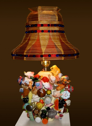 Popsicle Stick Lamp 1