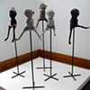 "Pam Lethbridge ""Five Figures on a Stand"""