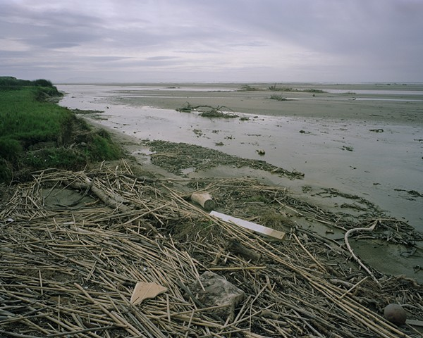 Approaching the Mouth of the Santa Clara River, Ventura County, 2004