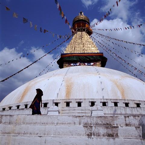 Boudhanath Stupa, Nepal, 1992