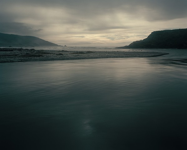 Mouth of the Big Sur River, Andrew Molera State Park, Monterey County, 2005