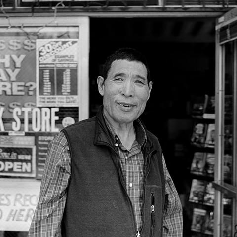 Tsering Dondrup in Inglewood, 2013