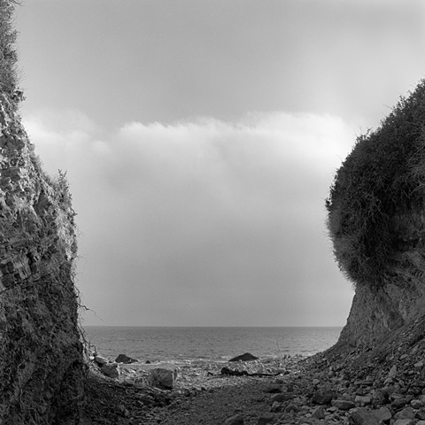Dry Creekbed, Abalone Cove Ecological Reserve, Palos Verdes Peninsula, Los Angeles County, 2000