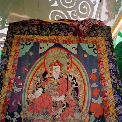 Padmasambhava Embroidery,Orgyen Chö Dzong, New York, 2000