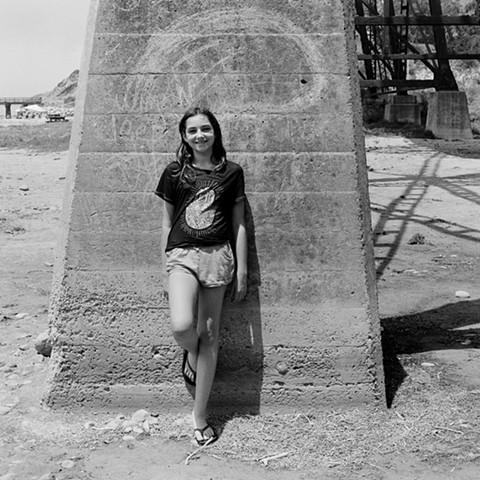 Emma at Gaviota State Beach, 2015
