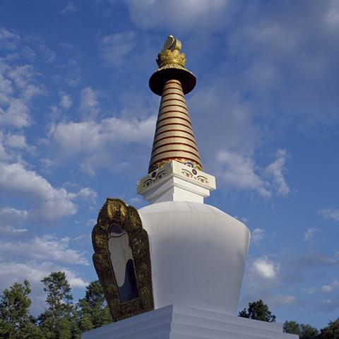 Sky and Stupa, Orgyen Chö Dzong, New York, 2010
