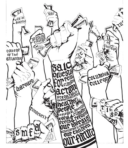 Divestment Illustration