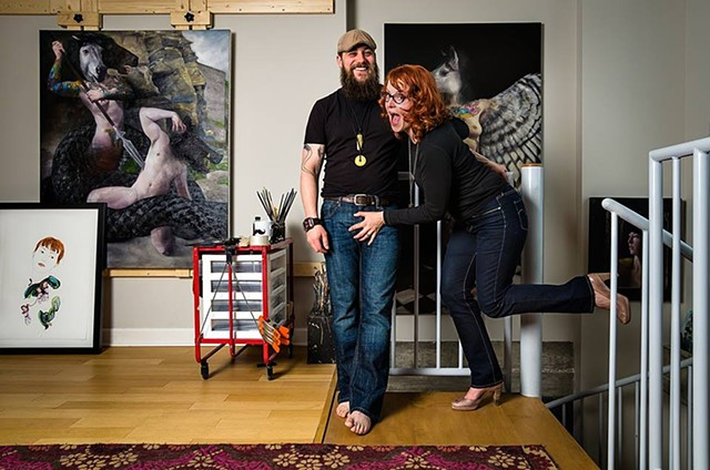 Art That's Anything but Sidetracked - Evanston Magazine Feature