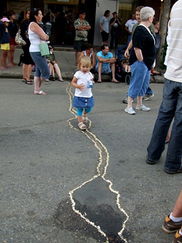 street performance, Grande Prairie, Alberta