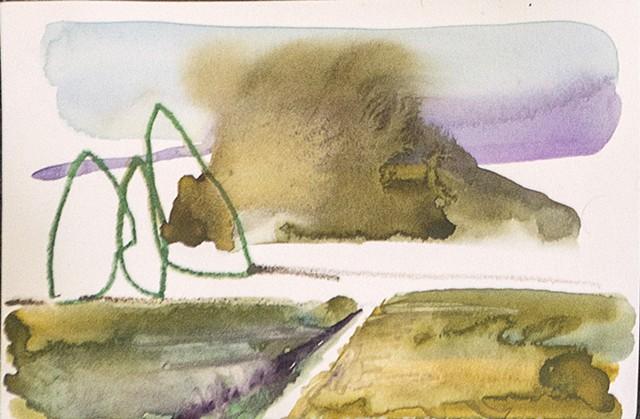 Levitated Landscape Series II