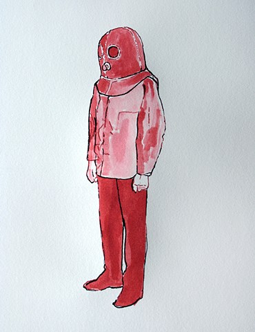 (Red Tank Head II)