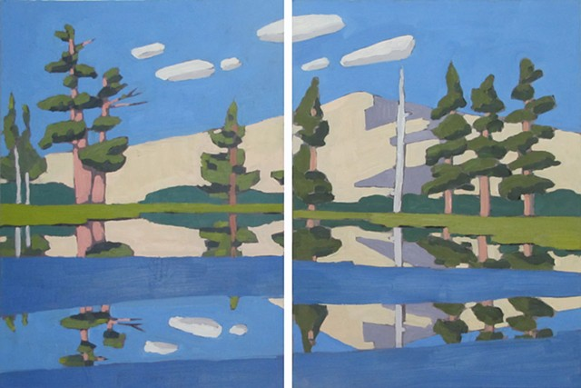 Emigrant Wilderness (Diptych)
