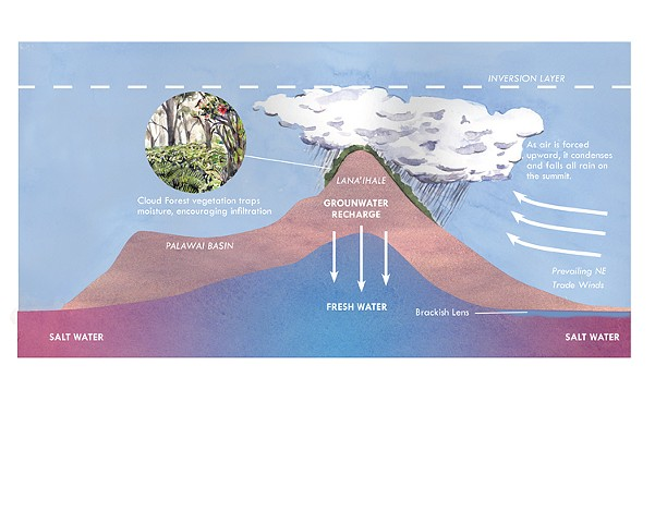 Hawaiian Weather and Groundwater Patterns