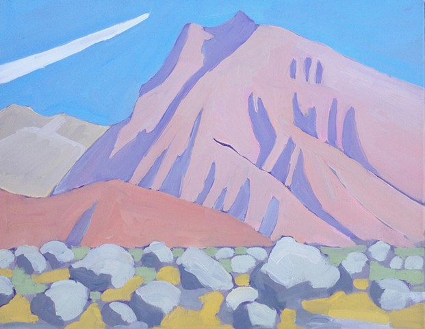 oil painting Anza borrego