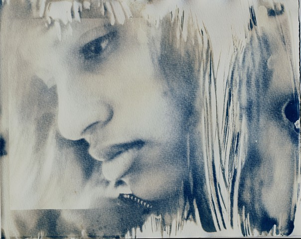 Student work, cyanotype 2008