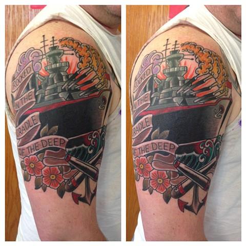 Traditional Battleship... Robert Downey