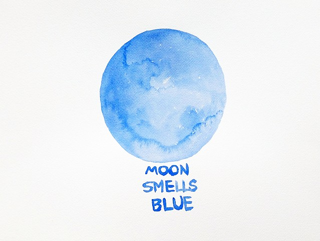 Moon Smells Blue