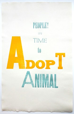 People! It's Time To Adopt Animal