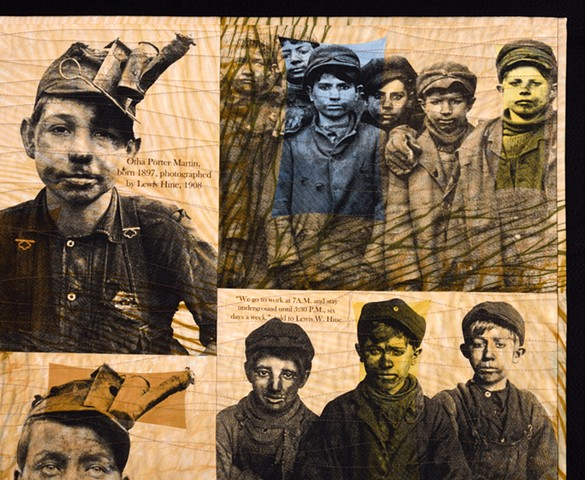 GLIMPSE OF DAYLIGHT:  THE BOYS OF THE MINES (Detail)