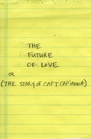 Title Page, The Future of Love (Artist's Book)